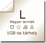 1 GB web tárhely