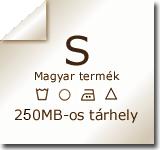 250MB web tárhely